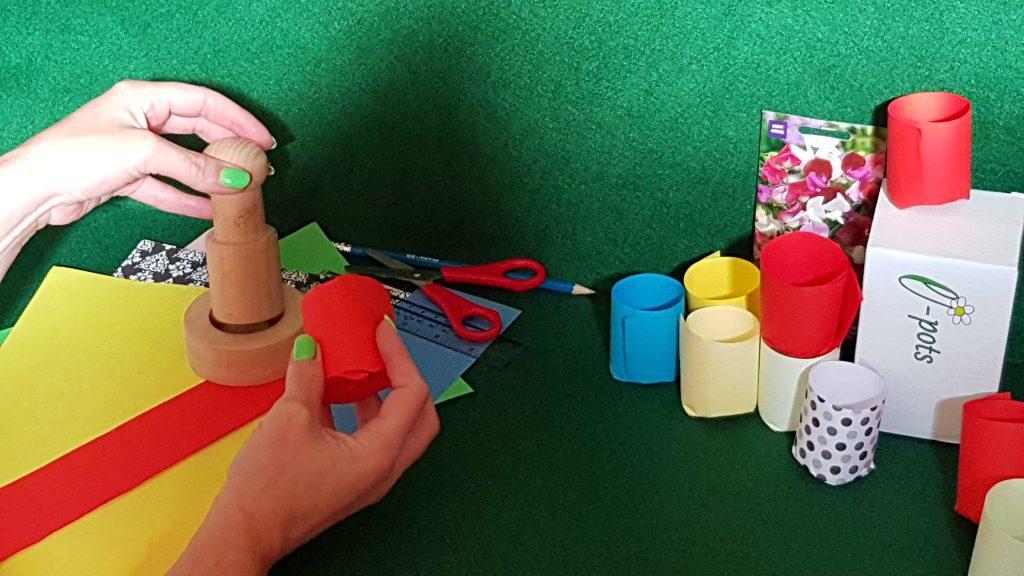 Making paper pots